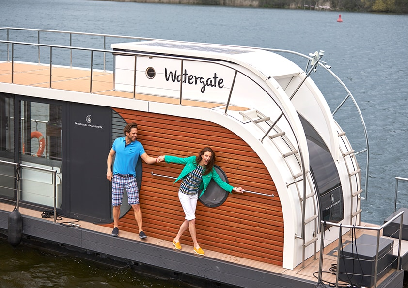 Mobile Immobilie – Wohntraum Hausboot
