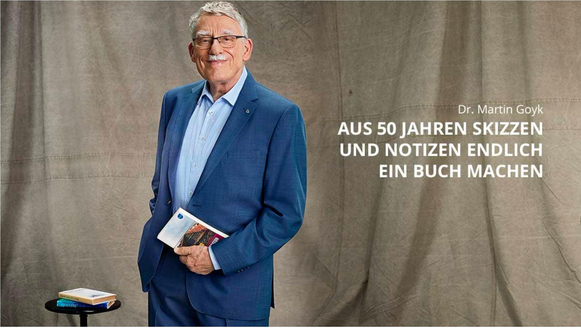 Martin Goyk: Aus 50 Jahren Skizzen wird ein Buch