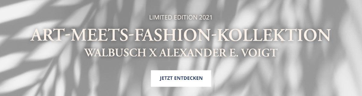 Art meets Fashion Kollektion   Walbusch