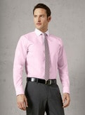 Extraglatt-Hemd Milano Streifen