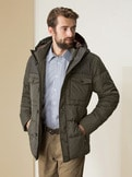 Steppjacke Tweed