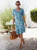 Layering Kleid Paisley