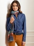Jeansbluse Trendline