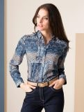 Patchwork Bluse