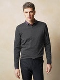 V- Pullover Cashmere Touch