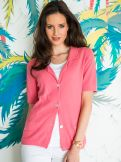 Tropical-Strickblazer Pima-Cotton