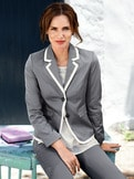 Betty Barclay Baumwollsatin Blazer
