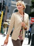 Betty Barclay Baumwollsatin-Blazer
