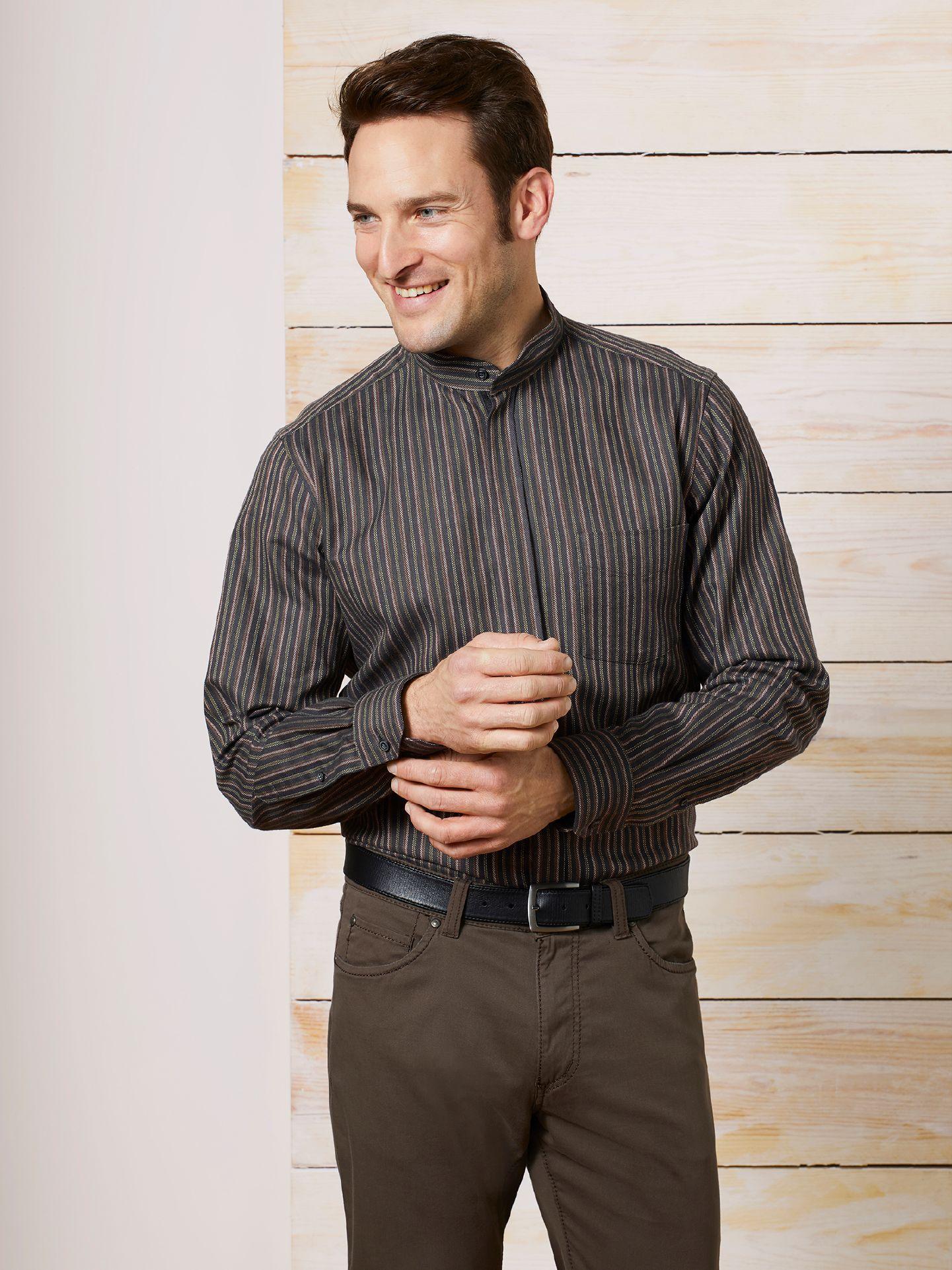 thermoflanell hemd stehkragen direkt hier kaufen walbusch. Black Bedroom Furniture Sets. Home Design Ideas