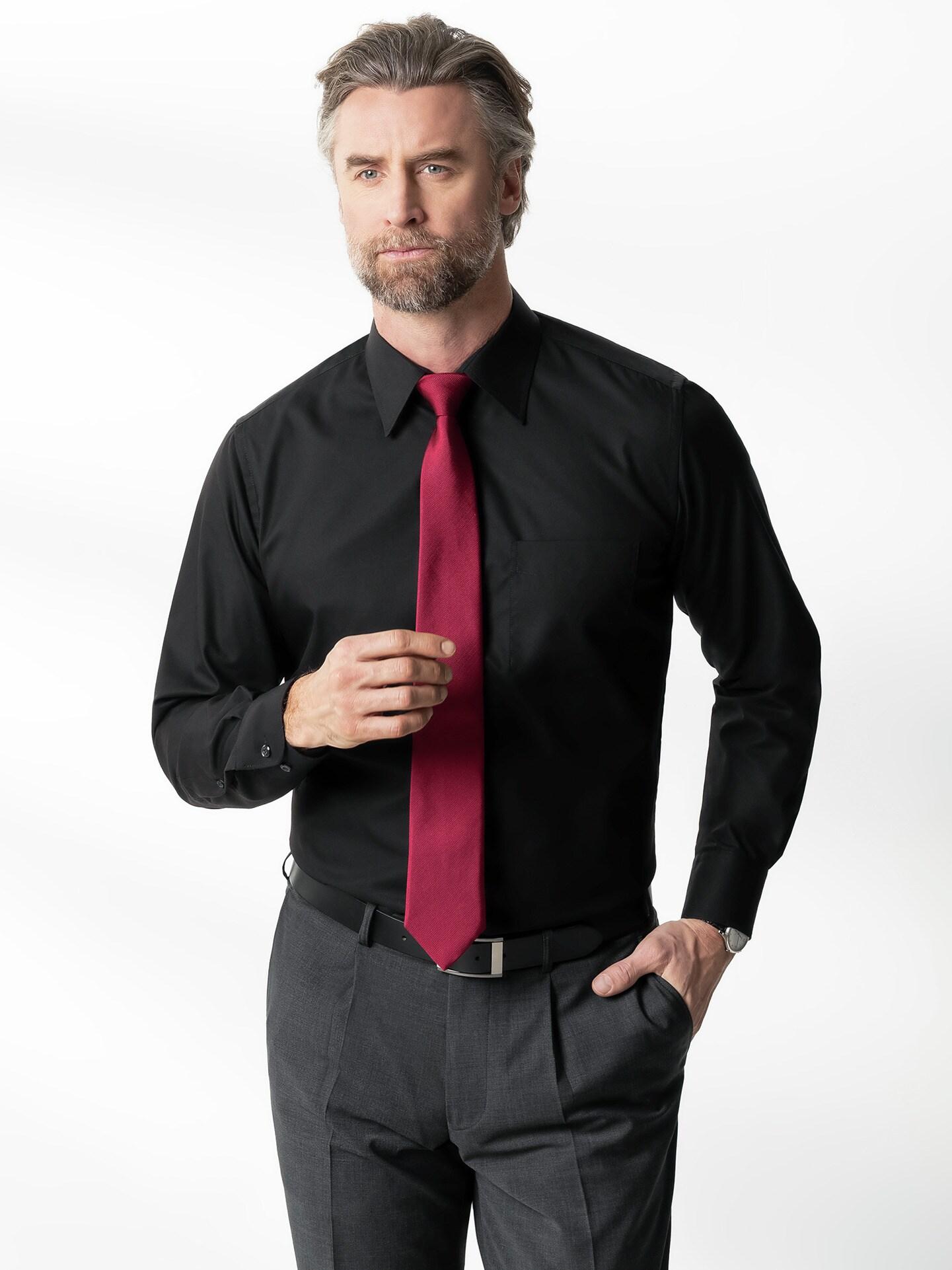 extraglatt hemd permablack direkt hier kaufen walbusch. Black Bedroom Furniture Sets. Home Design Ideas