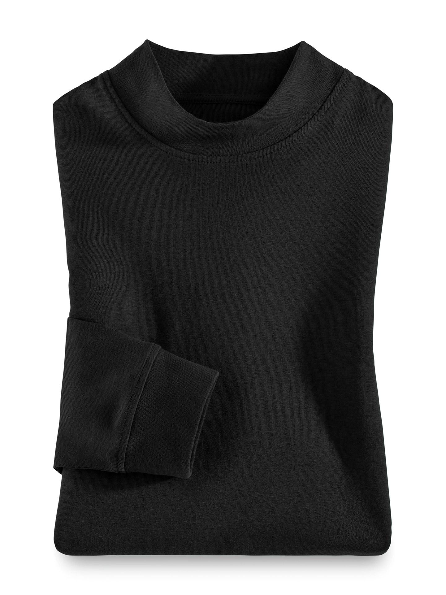 Artikel klicken und genauer betrachten! - Das Stehbund-Shirt macht sich solo genauso gut wie als Unterzug. Für den hochwertigen Jersey wurde extra langstapelige, supergekämmte Baumwolle verarbeitet. Das verleiht dem Stehbund-Shirt einen angenehm weichen Griff, Formstabilität und Farbbeständigkeit. Und da das Shirt enzymgewaschen ist, bilden sich keine unschönen Fusseln mehr! Zudem erhält es durch diese spezielle Wäsche einen dezenten Mattglanz. | im Online Shop kaufen