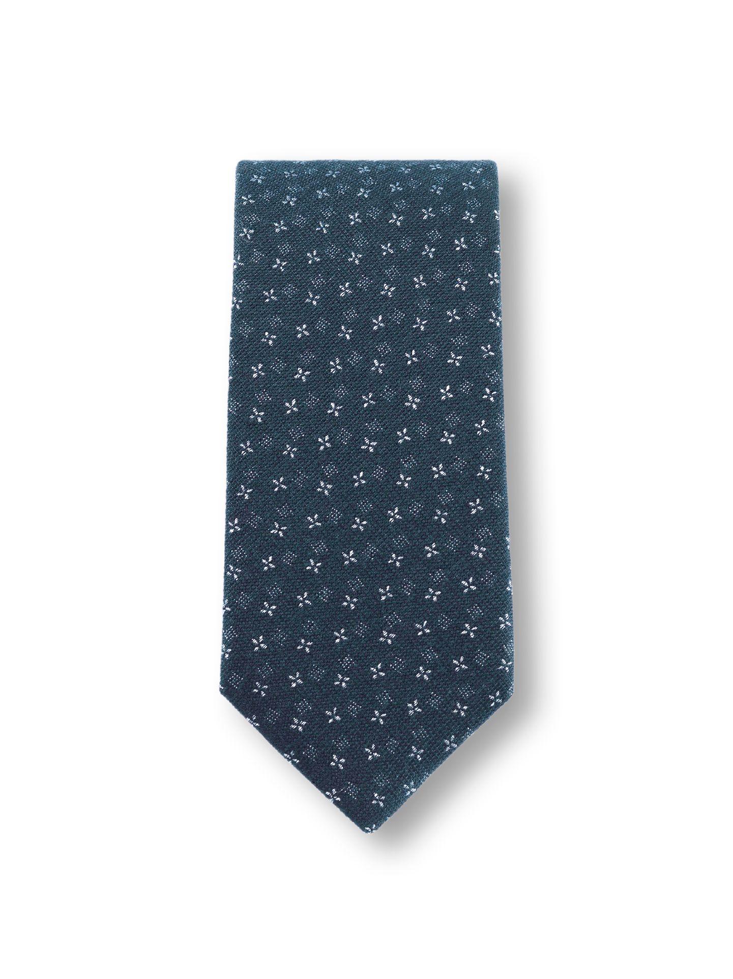 Walbusch Herren Krawatte Blau bedruckt 01 28-2360-9