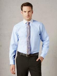 Extraglatt-Hemd Milano-Streifen