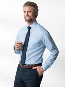 Extraglatt-Hemd Kent-Kragen