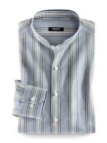 Stehkragen Havanna-Shirt