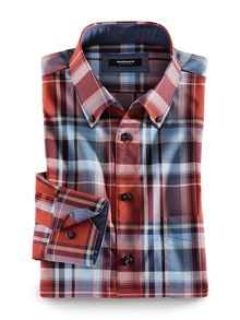 Extraglatt-Hemd Button-Down