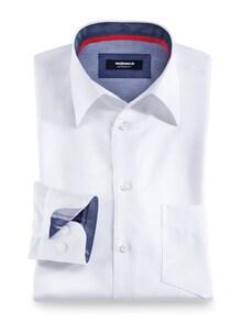 Extraglatt Hemd Walbusch Kragen