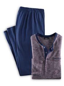 Schlafanzug Ultraleicht u. Easycare