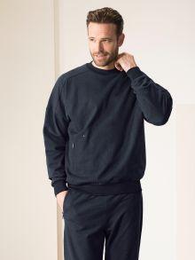 Denim Freizeitsweater
