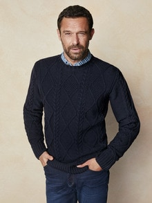 Aran Pullover Galway