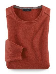 Lambswool Rundhals-Pullover