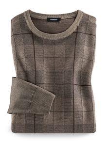 Pullover Gitterkaro