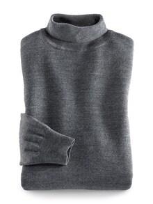 Merino-Mix Rollkragen-Pullover