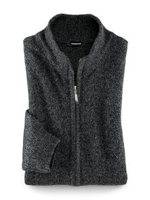 Mouline-Strickjacke