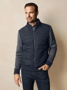 Strickfleece -Jacke Urban Explorer