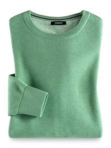 Struktur-Pullover Soft Cotton