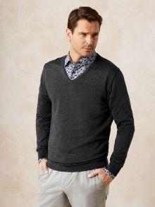 Sakko V- Pullover
