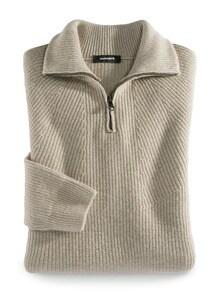 Ripp-Pullover Nahtlos