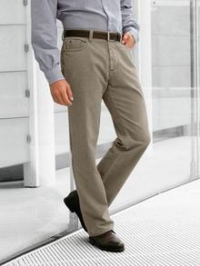 Baumwollhose 5-Pocket Herr (Posten)