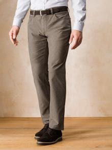 Melange-Twill Five Pocket