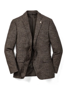Donegal Tweed-Sakko Herbstlaub