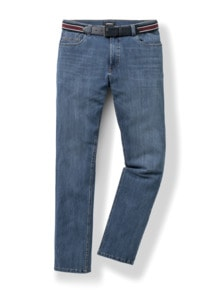 Gürtel-Jeans Modern Fit Blue Stone Detail 1