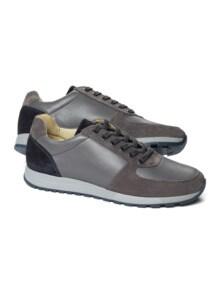 City-Bequem-Sneaker Grau Detail 1