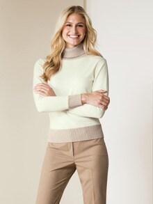 e864442624e2 Zeitlose Rollkragen-Pullover für Damen bei Walbusch bestellen