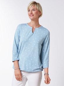 Viskose Shirt Polka Dot