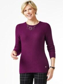 Cashmere Leicht-Pullover