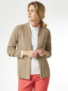 Patent-Strickjacke
