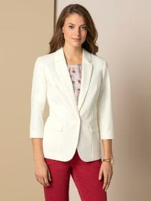 Sommerblazer Wash & Wear
