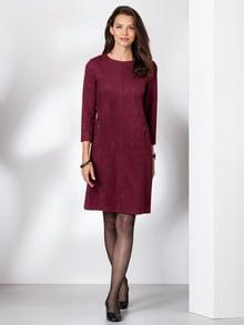 Lederoptik-Kleid