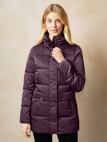 Thermoleicht Steppjacke Satin