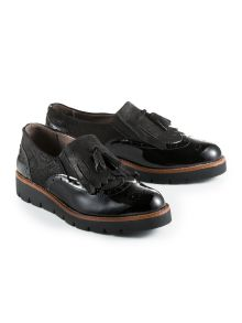 Leder-Loafer
