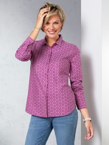 Flanellbluse Supersoft
