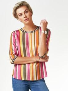 Viskose-Shirtbluse Bella Vita