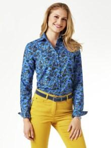 Kuschelflanell-Bluse