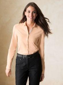 Jersey Bluse