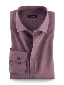 Extraglatt-Hemd Minimal Rot Detail 1
